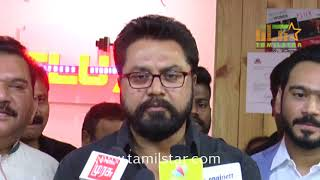 Actor SarathKumar Launches Flux Fitness Studio