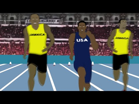 Usain Bolt Wins At Rio Olympics 2016 [Cartoon Video] - YouTube