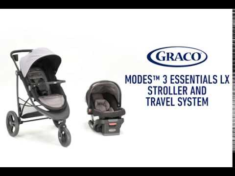 Graco Modes 3 Essentials LX Stroller Travel System