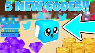 Bubble Gum Simulator All 5 New Codes | Gems and Coins (Roblox)