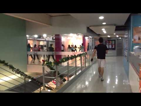 Fitness First class in Manila, Philippines
