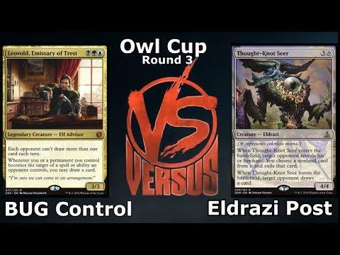 BUG Control vs Eldrazi Post (Live) Singleton magic!