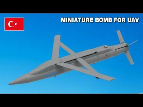 Turkish Develops High Penetrate Mini Bomb for UAV