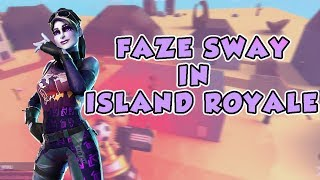 Faze Sway In Island Royale (Roblox Fortnite)