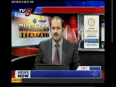 21st March 2018 TV5 News Business Breakfast