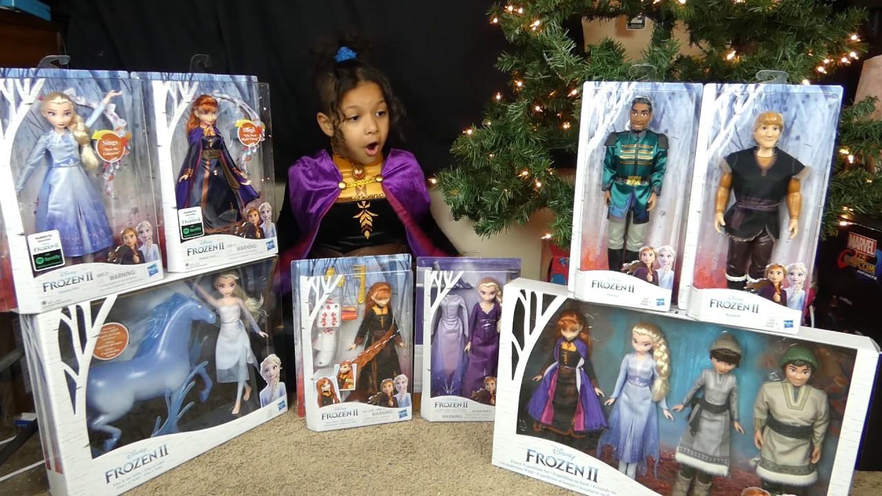 Frozen 2 Toy Haul | Christmas present Ideas 2019 - YouTube