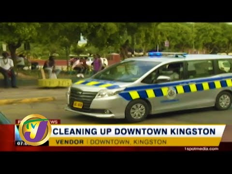 TVJ News: Cleaning Up Downtown Kingston - January 11 2020