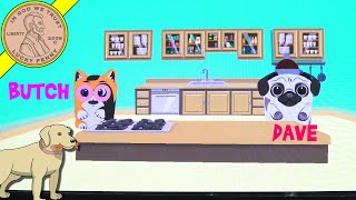 Toaster Pets Cartoons Animation Studio - Butch A Cat & Dave A Dog!