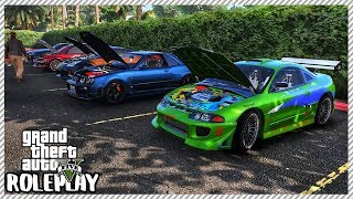 GTA 5 Roleplay - Huge 'FAST & FURIOUS' Car Meet | RedlineRP #600