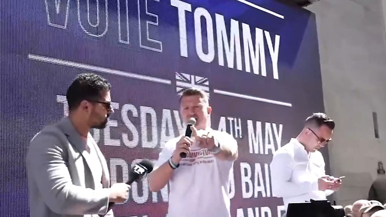 Best of 2019, Tommy Robinson edition: Charged with the crime of journalism | Ezra Levant