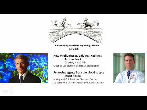 2018 Demystifying Medicine: Emerging Infections and Removing Agents from the Blood Supply