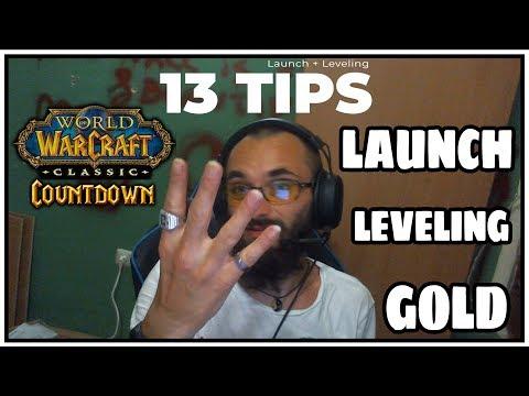 13 World of Warcraft Classic - Vanilla - Leveling / Launch