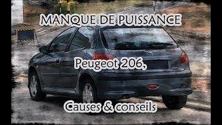 MANQUE DE PUISSANCE PEUGEOT 206, causes & conseils TUTO (ou Pourquoi ma voiture fume?)