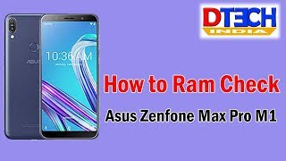 How to Check Ram Asus Zenfone Max Pro M1