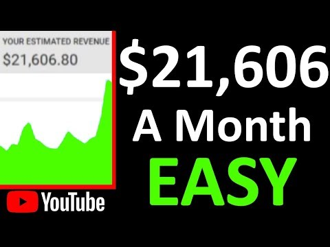 How to Make Money on YouTube Without Making Videos ($22K a Month)