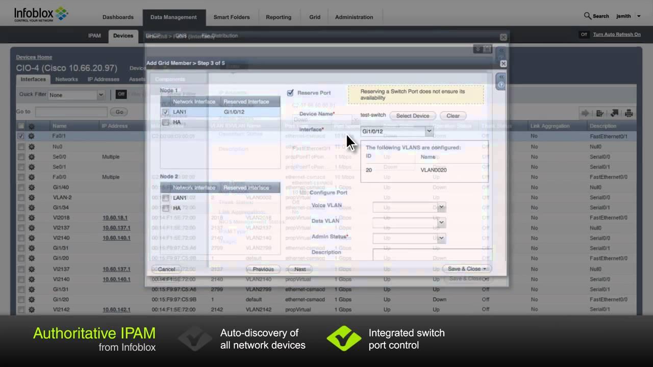 Next Gen IP Address Management (IPAM) for Microsoft from Infoblox