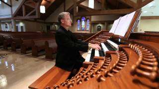 Organ Sonata No 3, Opus 65 (Andante tranquillo) played by Chris Oelkers