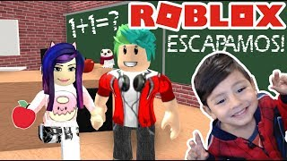 Escape from the School in Roblox School Escape Obby Roblox games for kids