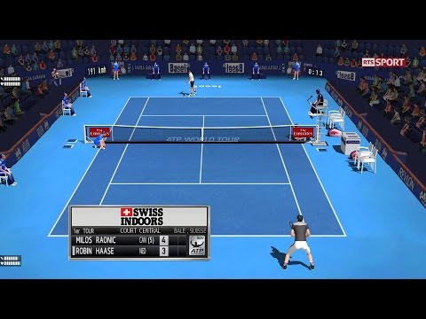 Raonic vs Haase | R1 Bâle Atp500 | Ép.52 Tennis Elbow 2013