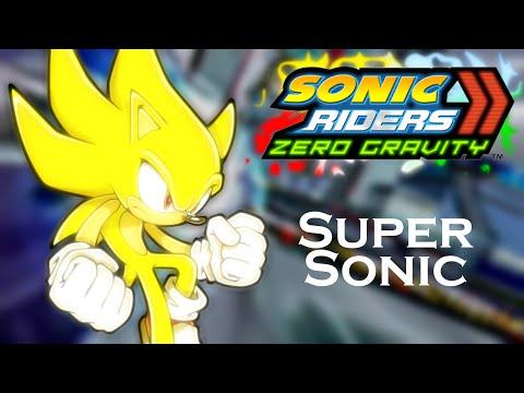 Sonic Riders Zero Gravity WGP - Super Sonic