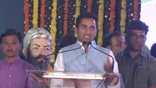 MLA Jagdish Mulik speech in Raje Chatrapati Shivaji Maharaj garden inauguration programme.