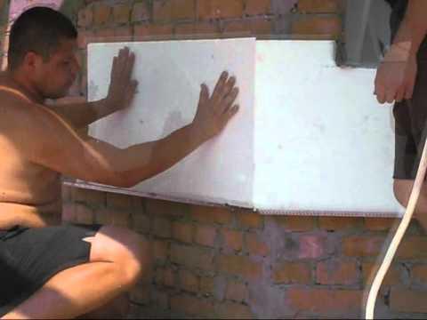 10 этапов утепления фасада пенопластом.