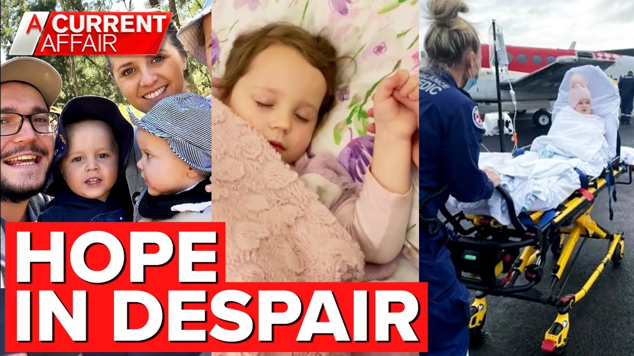 Family's heartbreaking battle just to be with daughter fighting cancer | A Current Affair