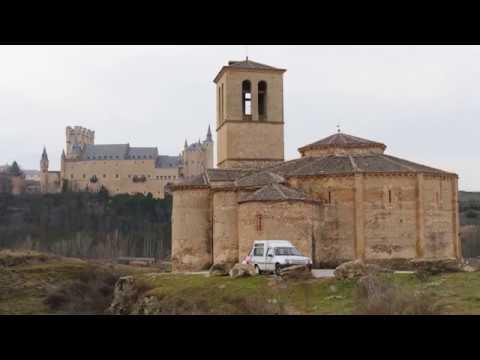 Iglesia De La Vera Cruz Segovia Espana