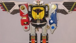 Retro Review: Ninja Megazord & Falcon Zord (Mighty Morphin Power Rangers)