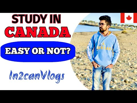 Canadian Study Easy Or Difficult | Canadian Education System| Vlog 10| In2Can Vlogs| India To Canada