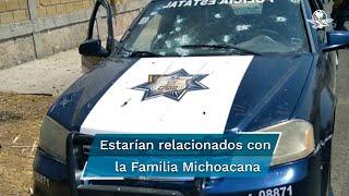 Detienen a 25 personas tras emboscada contra 13 policías en Coatepec Harinas