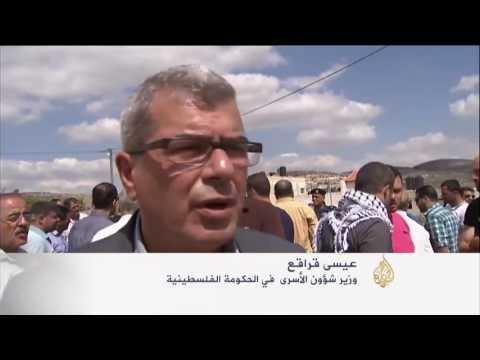 تشييع جثمان الشهيد الأسير  ياسر حمدوني