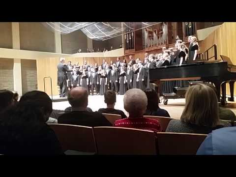 Iowa State Singers - Even When He is Silent