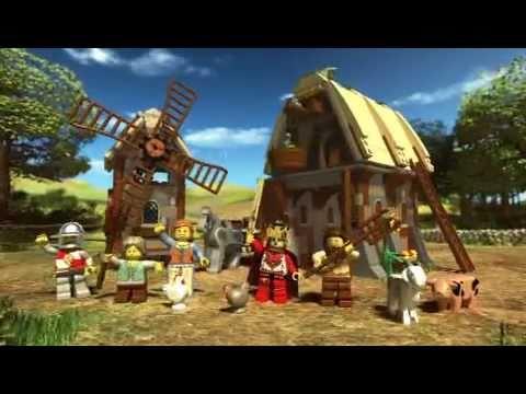 2011 LEGO Kingdoms Mill Village Raid