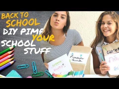 Back To School: DIY Pimp Your School Stuff   Emma Keuven