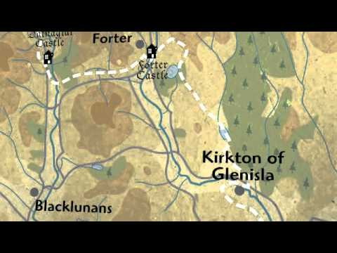 The Alliance Trust Cateran Yomp Interactive Map - Video (ABF The Soldiers' Charity)