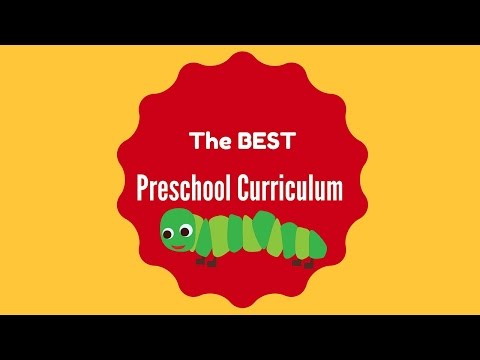 Free easy effective preschool/kindergarten for homeschool curriculum