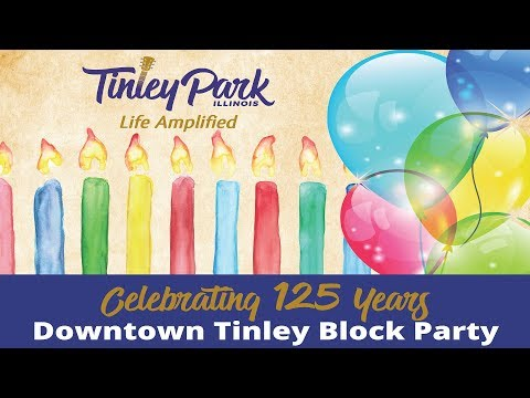 Downtown Tinley Block Party (July 2017)