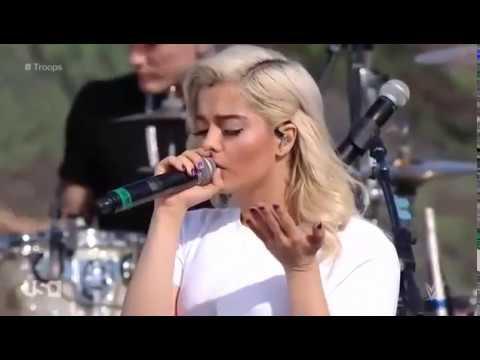 """HOME"" - MGK ft. X Ambassadors & Bebe Rexha (Live Performance) - WWE Tribute to the Troops 2017"