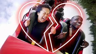 Trapped on Rollercoaster Until They Settle Argument | Couples Therapy | Cut