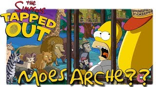 TSTO - Simpsons - Springfield - Tapped out - Moes Arche?? [Let's Play HD Deutsch]