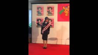 春の交通安全キャンペーン 新宿駅西口広場.