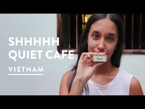 WHISPER ONLY! REACHING OUT TEA HOUSE CAFE   Hoi An, Vietnam Vlog 079, 2017   Digital Nomad
