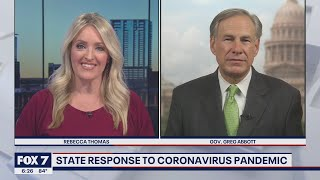 FOX 7 Discussion: Gov. Abbott on concerns about Texas schools and COVID-19