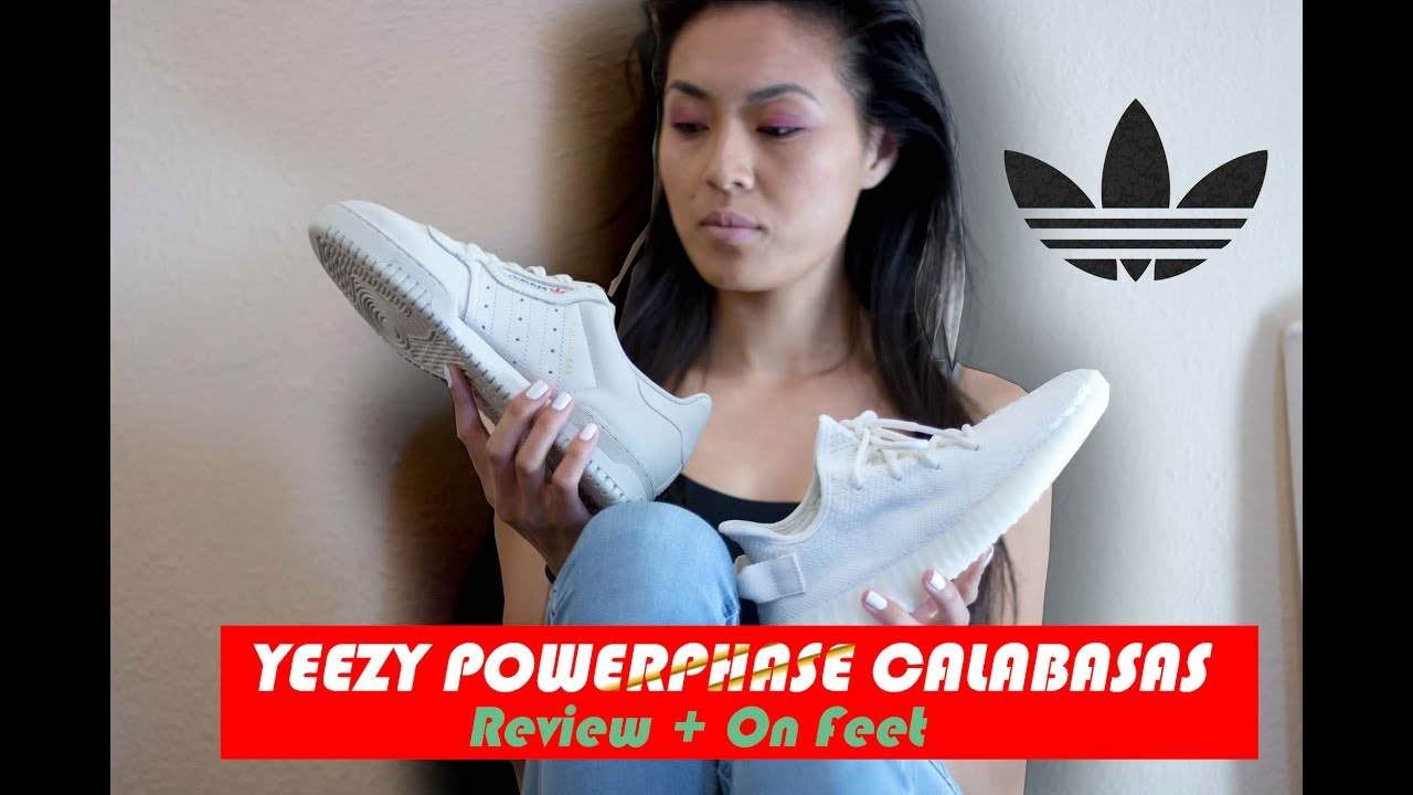490608a4f YEEZY Powerphase Calabasas  Review + On Feet (Part 2) - YouTube
