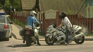 ГАИ усиливает контроль за мотоциклистами, Беларусь