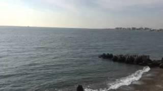 舞子砲台跡からの明石海峡大橋