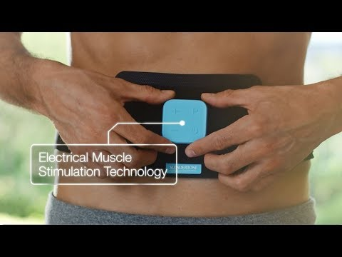How To Use The Slendertone Abs8 Toning Belt Youtube