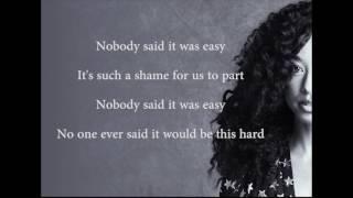 Corinne Bailey Rae The Scientist Fifty Shades Darker Lyrics
