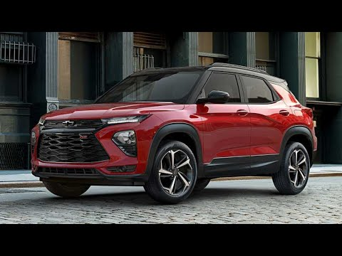 2021 Chevy TrailBlazer RS SS is a MODERN AZTEK - YouTube